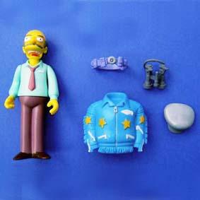 Sarcastic Man Raphael Os Simpsons Bonecos (aberto) série 14