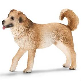 Schleich 2012 Mixed Breed Dog 16817