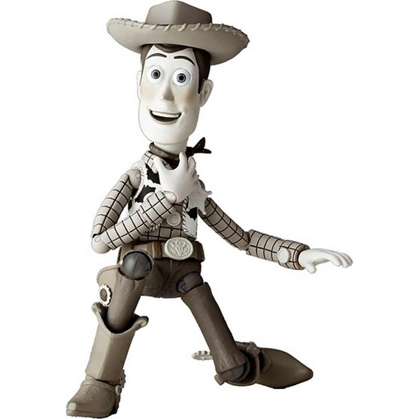 SCI-FI Revoltech series 010 Woody Sepia (Toy Story) Kaiyodo action figure