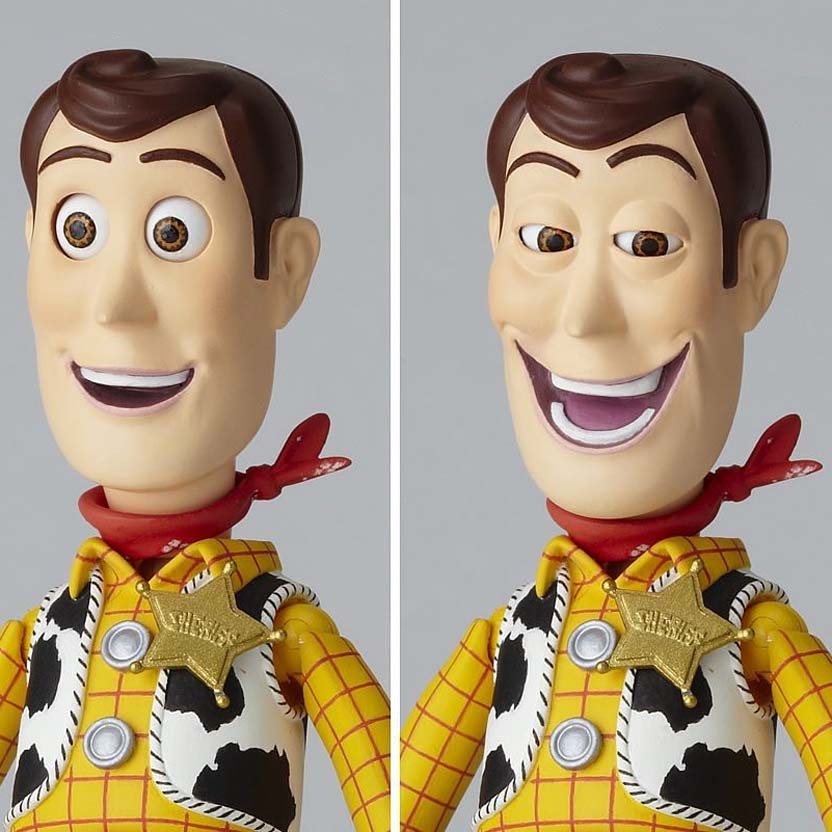 SCI-FI Revoltech Series series 010 Woody (Toy Story) Kaiyodo action figure