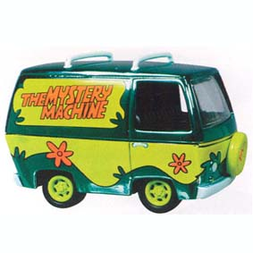 Scooby Doo Mystery Machine Chromo (aberto)