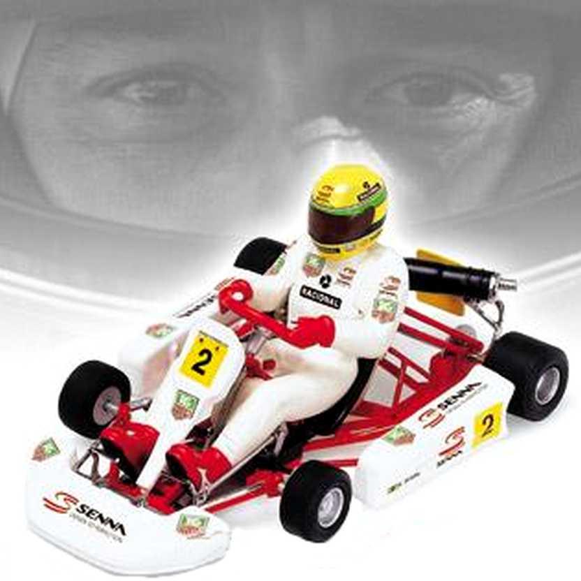 Senna Kart Paris 1993 - Minichamps escala 1/18