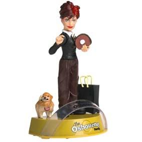 Sharon The Osbourne Family com som marca Mezco Toys