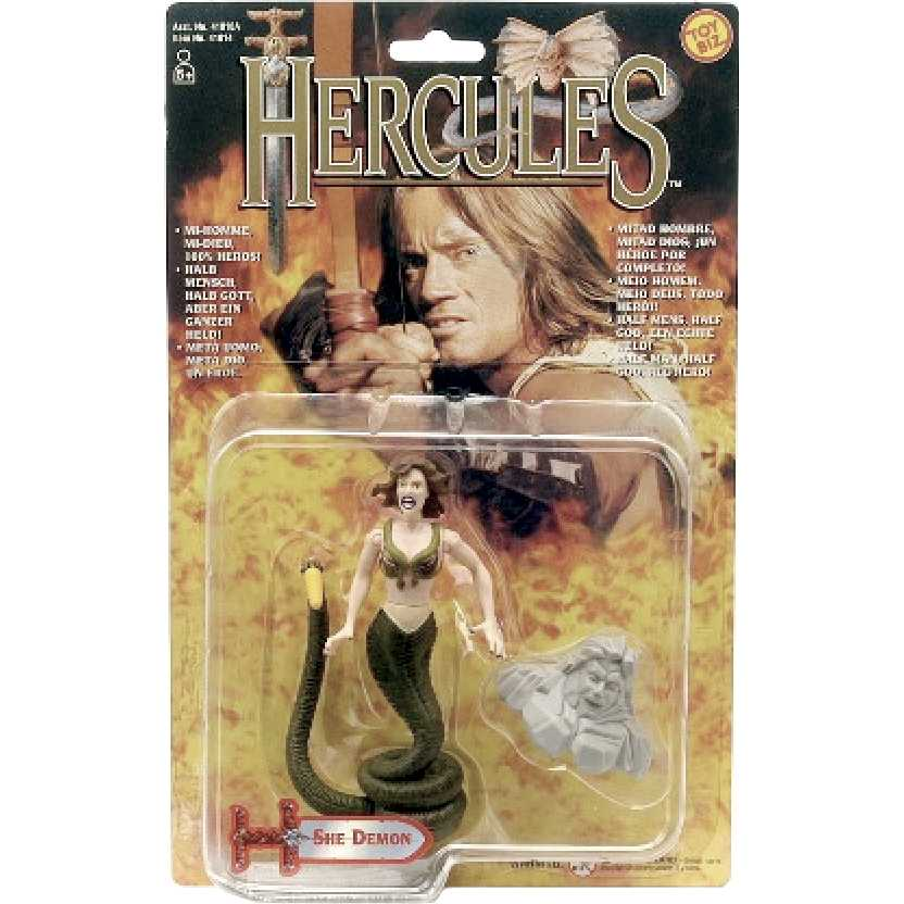 She-Demon do seriado Hercules Legendary Journeys marca Toy-Biz action figures