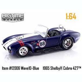 Shelby Cobra 427 S/C (1965) Jada Toys escala 1/64