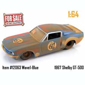 Shelby GT-500 (1967) Jada Toys escala 1/64