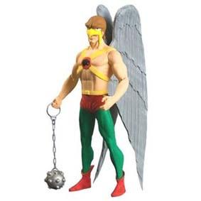 Showcase Hawkman - Gavião Negro (aberto) retira a máscara