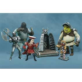 Shrek Duloc Dungeon Crew Mini Figures set McFarlane Toys