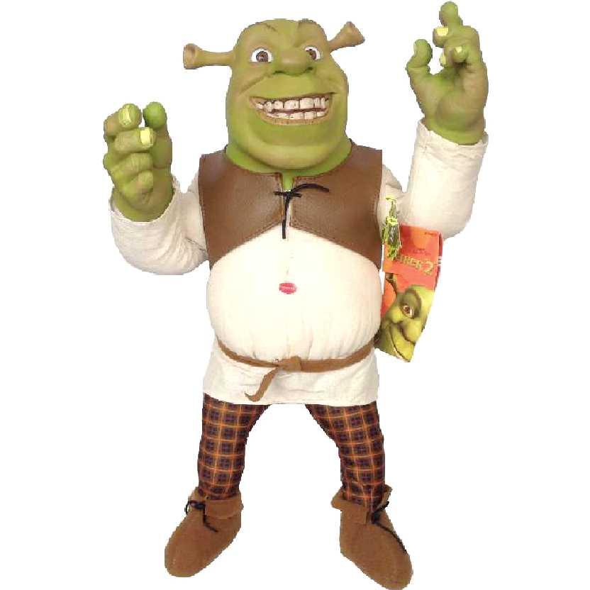 Shrek que fala (com som) 38cm + articulável (Dreamworks)