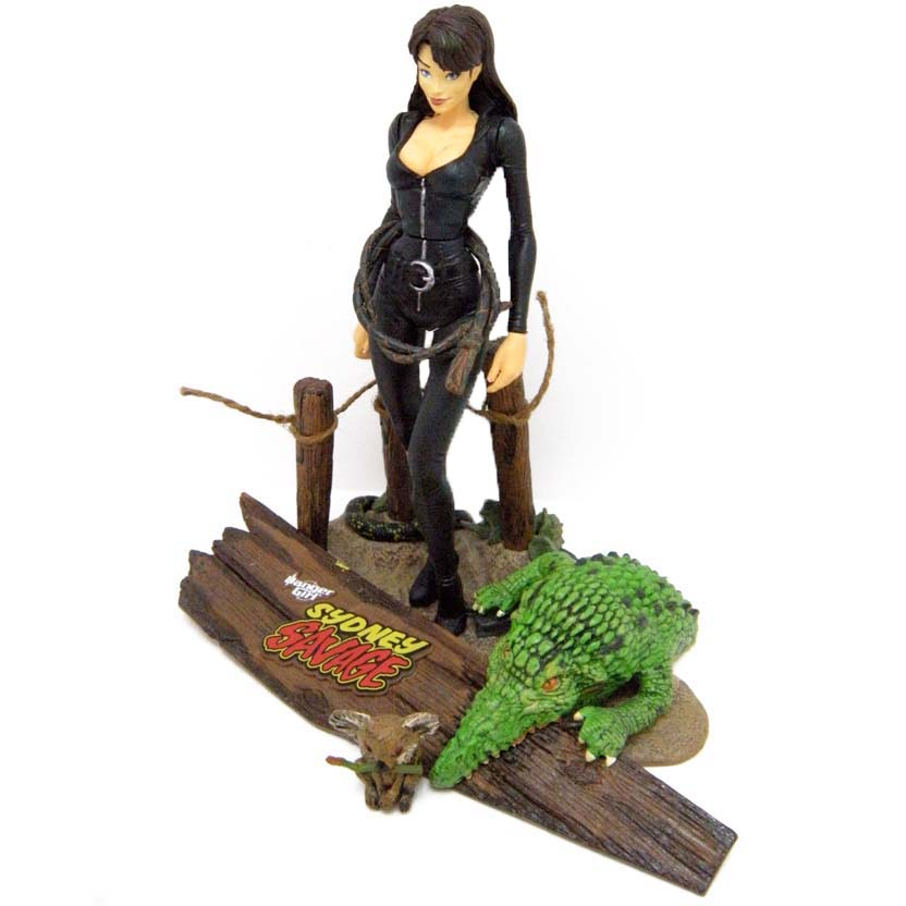 Sidney Savage - The Sassy Girl : Danger Girl Mcfarlane Action Figures