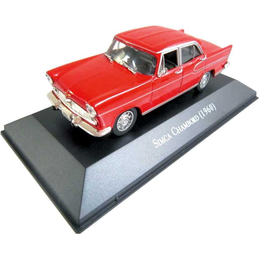 Simca Chambord 1960 Coleção Carros Inesquecíveis Do Brasil escala 1/43