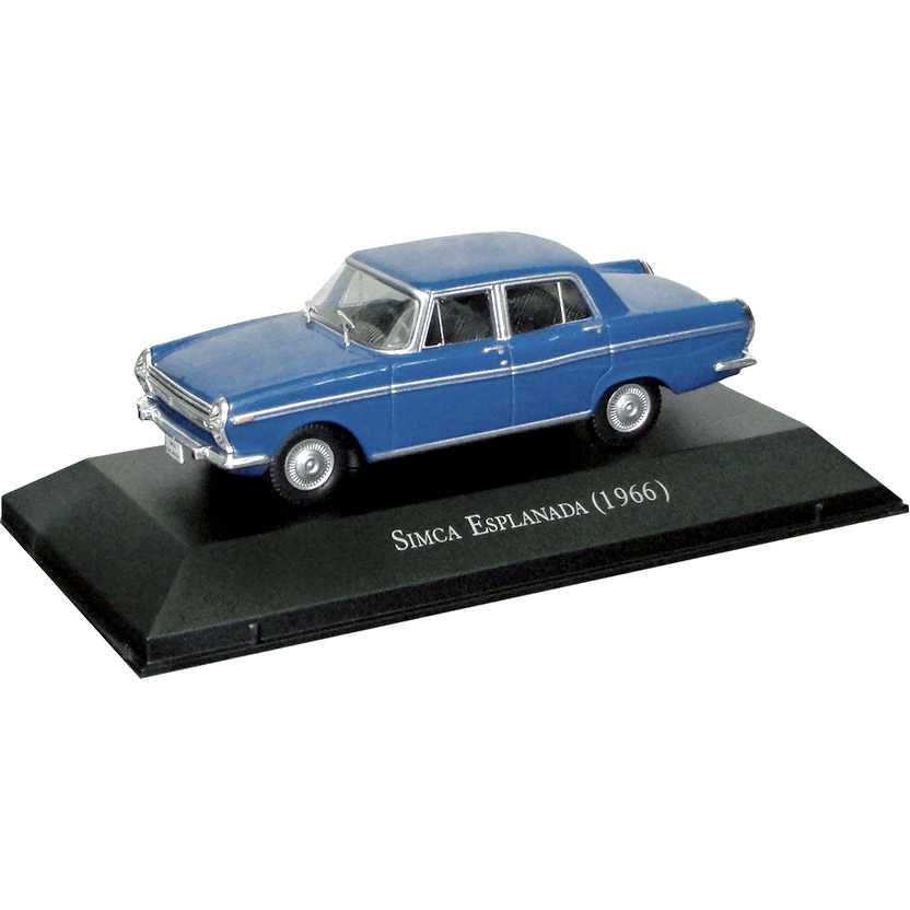 Simca Esplanada 1966 Coleção Carros Inesquecíveis Do Brasil escala 1/43