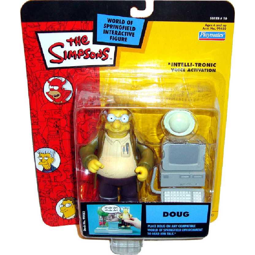 Simpsons Doug Action Figure Intelli-Tronic Series 16