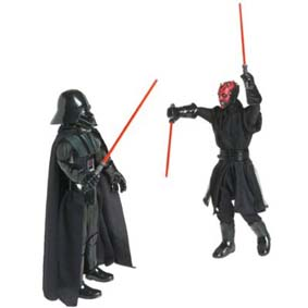 Sith Lords - Darth Vader e Darth Maul