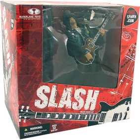 Slash com palco - GUNS & ROSES Box set