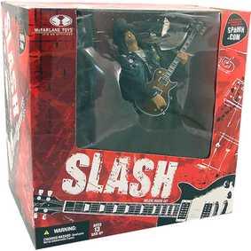Slash com palco - GUNS & ROSES Box set