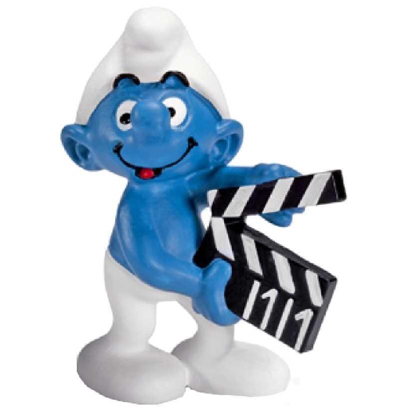 Smurf Assistente de Câmera com claquete marca Schleich 20710 Take Smurf