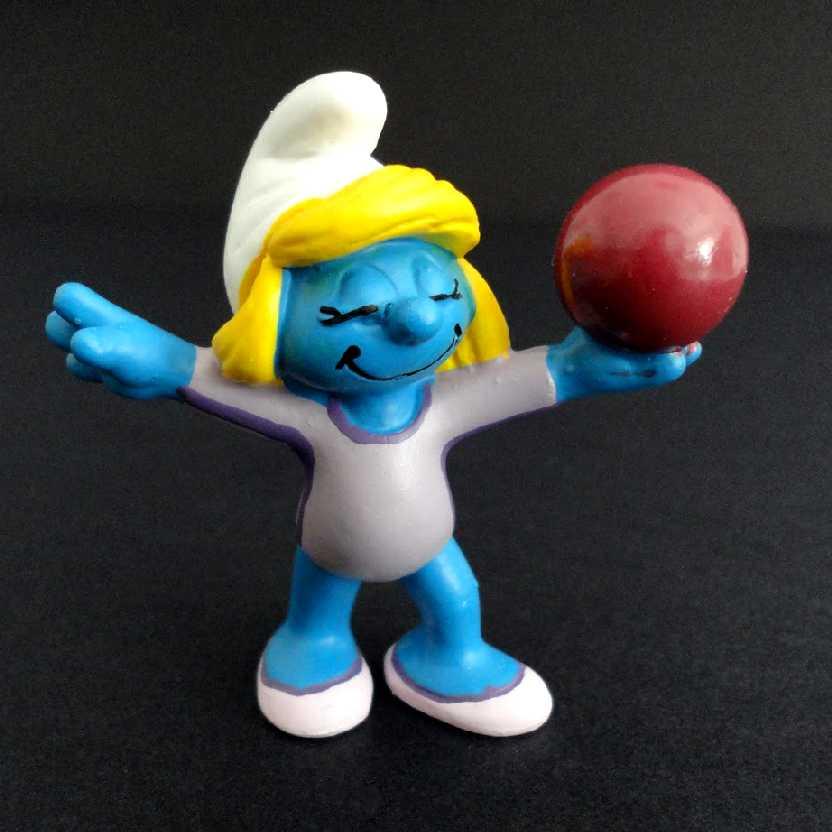 Smurf Ginástica Artística marca Schleich 20740 Gymnast Smurf