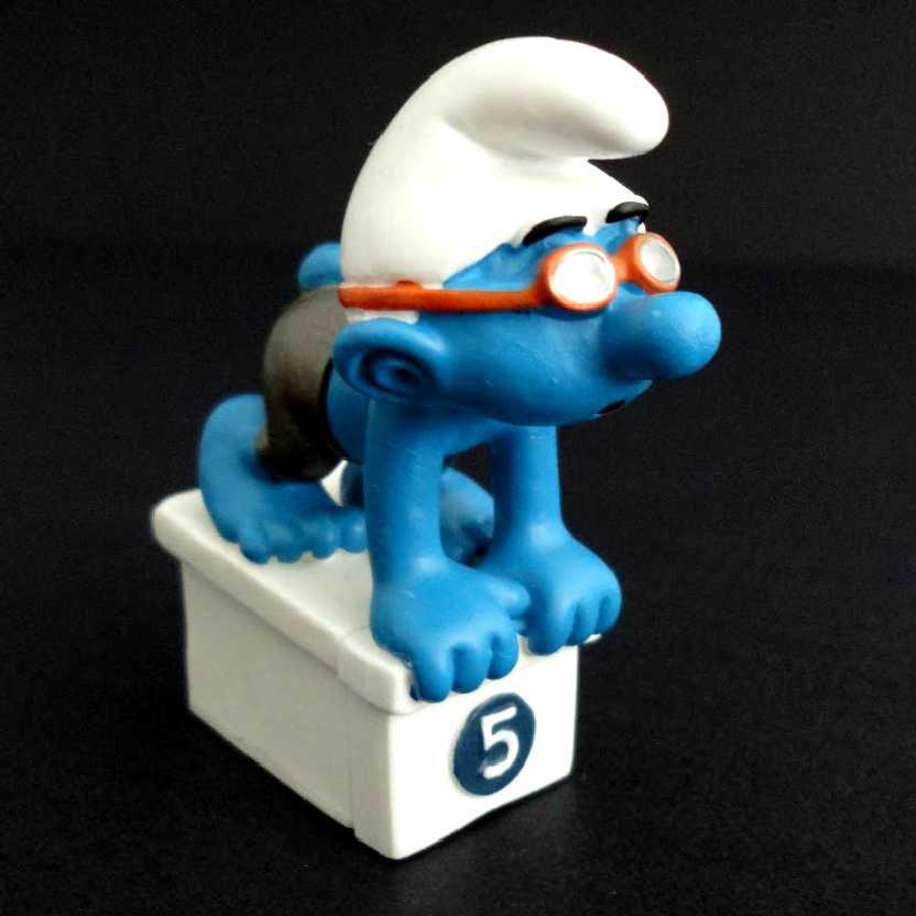 Smurf nadador marca Schleich 20736 Swimmer Smurf