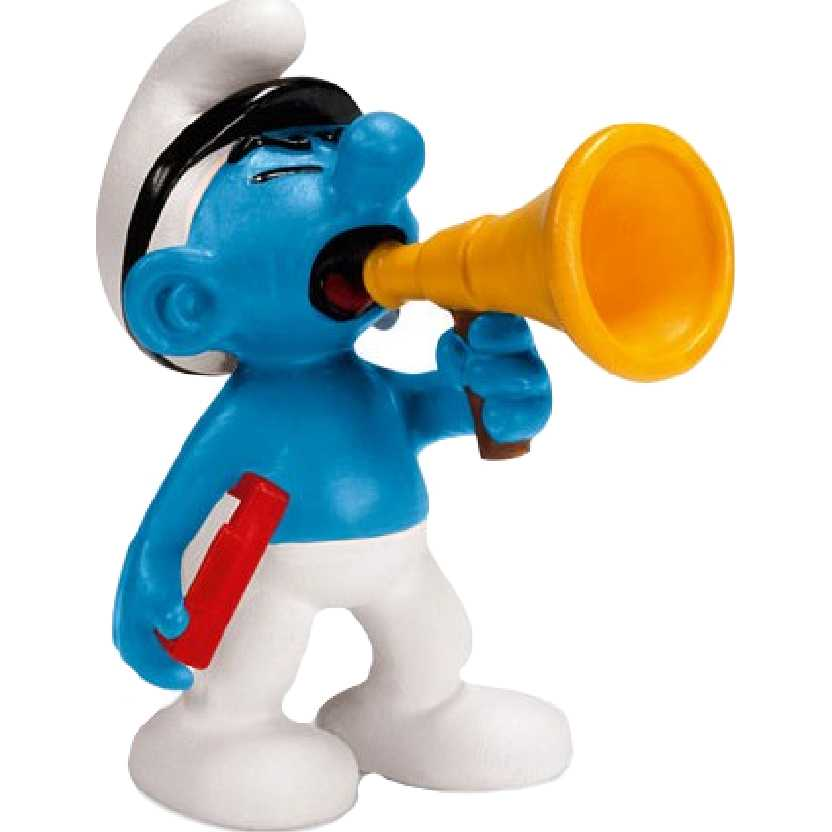 Smurf Produtor de filme marca Schleich 20715 Movie Producer Smurf