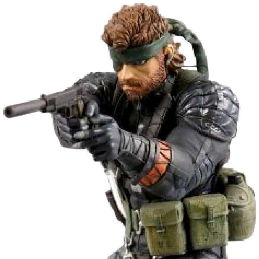 Snake Metal Gear Solid MGS 3 Edição Limitada marca Medicom (ABERTO)