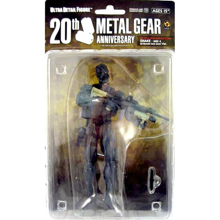 Snake Metal Gear Solid MGS 4 Octocamo Face Mask Ver. Medicom Figure