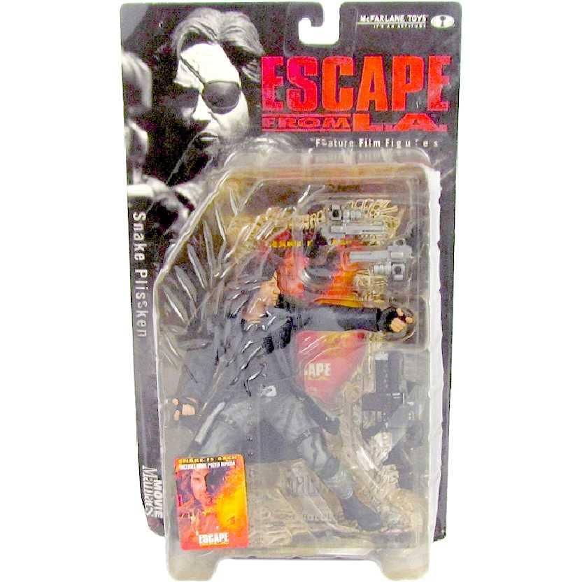 Snake Plissken (Fuga de Los Angeles) McFarlane Movie Maniacs 3 action figures