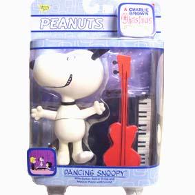 Snoopy com piano que emite música