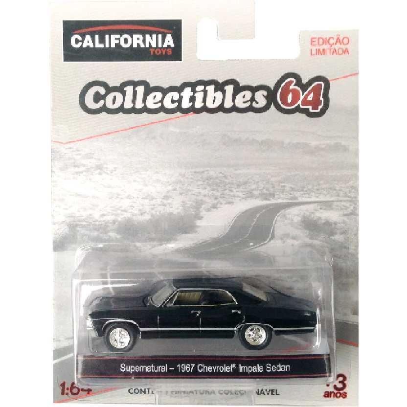 Sobrenatural / Supernatural 1967 Chevrolet Impala Greenlight escala 1/64