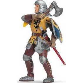 Soldado Infantaria amarelo com Machado - 70062
