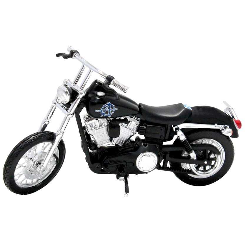 Sons of Anarchy Filip Chibs Telford - Harley-Davidson 2006 Dyna Street Bob - Maisto escala 1/18