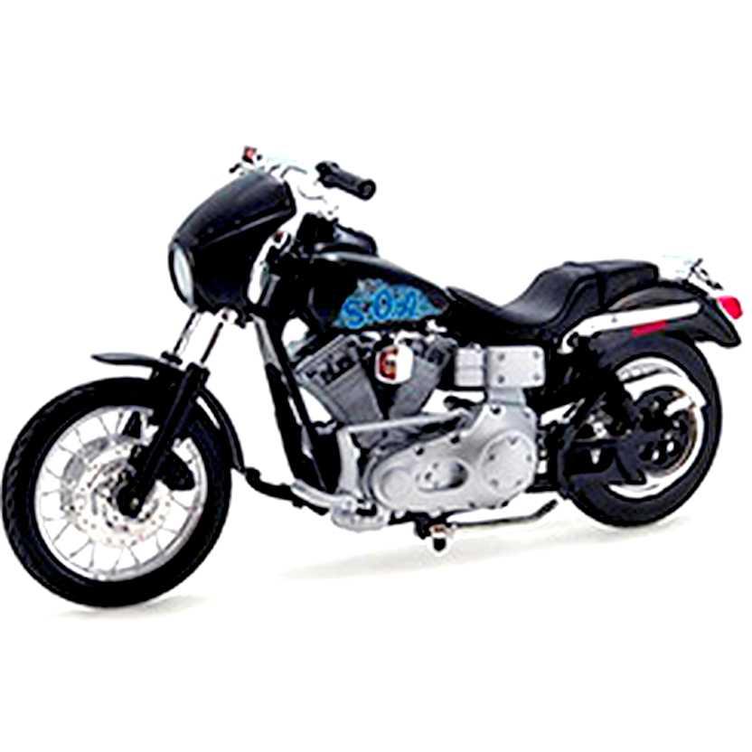 Sons of Anarchy Harry Opie Winston Harley-Davidson 2001 FXDX Dyna Super Glide Sport 1/18