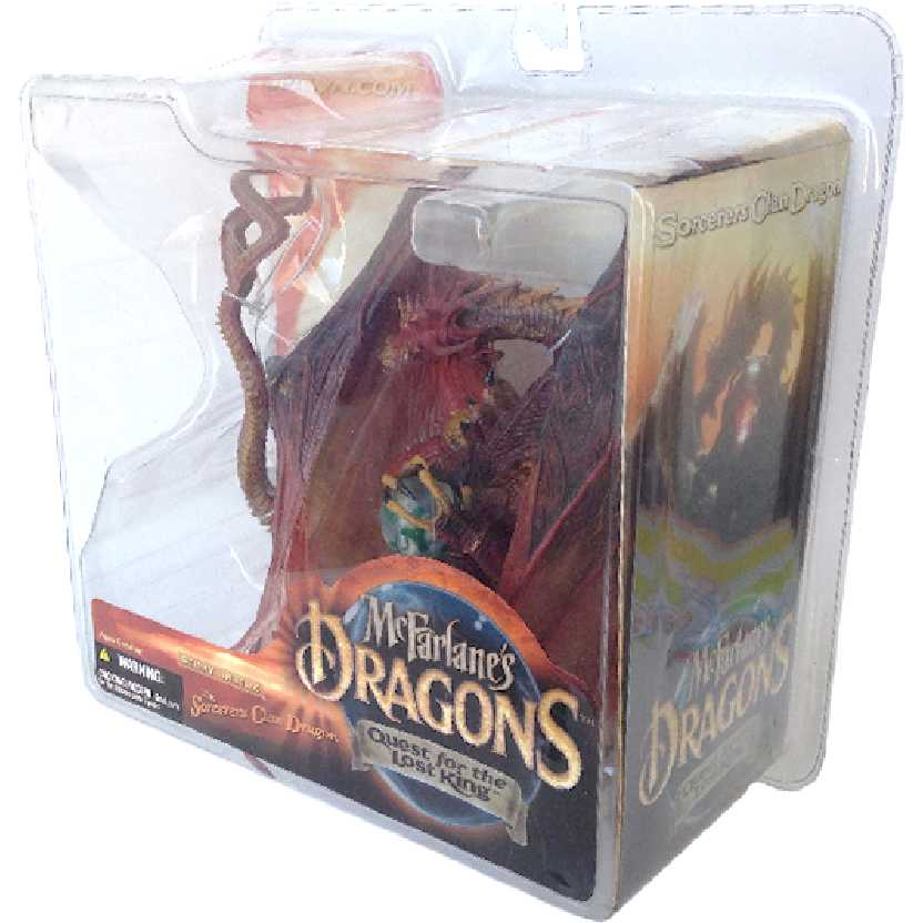 Sorcerers Clan Dragon McFarlane Dragons series 1 Quest for the Lost King