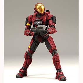 Spartan Soldier EVA vermelho (Halo 3)