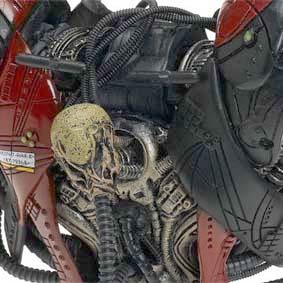 Spawn Bonecos McFarlane Toys Cyber Units Boneco Brute Unit 001 (red/vermelho)