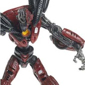 Spawn Bonecos McFarlane Toys Cyber Units Boneco Infiltrator Unit 001 red