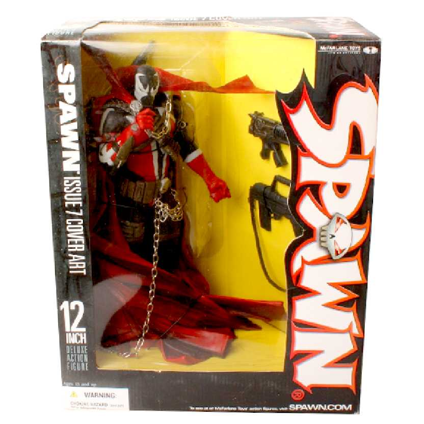 Spawn i.07 Cover Art (series 26) Commando Spawn 12 inch McFarlane Toys Figures