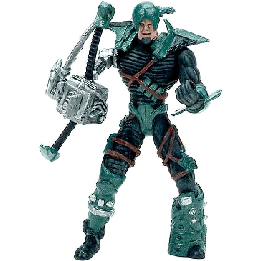 Spawn McFarlane Toys Series 1: The Curse verde Mini Trading Figure (Raro)