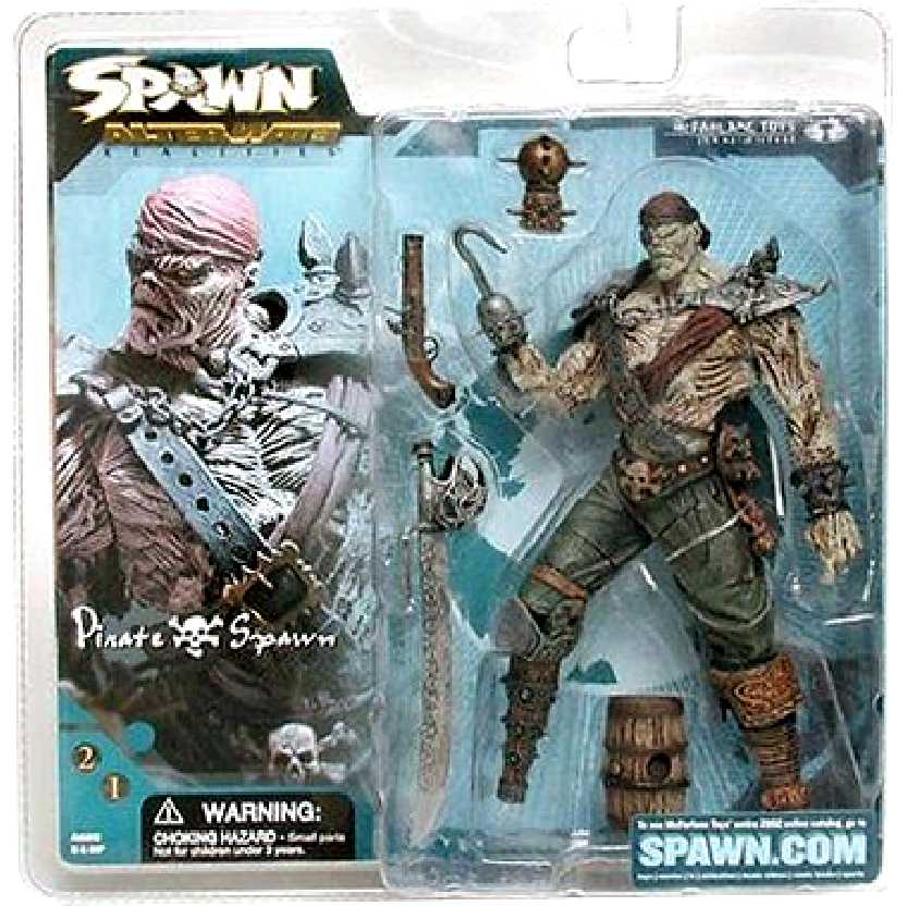 Spawn Series 21 Pirate Spawn McFarlane Toys Action Figures
