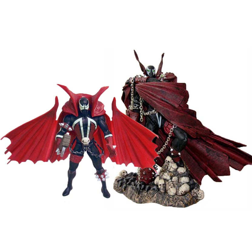 Spawn The Evolution One e Spawn V ( McFarlane Collectors Club 2002)