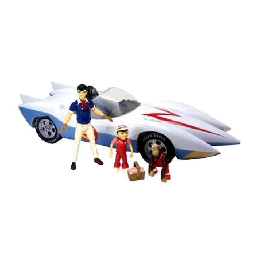 Speed Racer + Mach 5 (c/ Zéquinha e Gorducho) marca Toynami