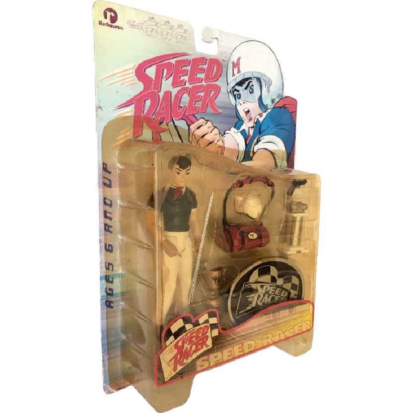 Speed Racer boneco colecionável marca Resaurus lacrado