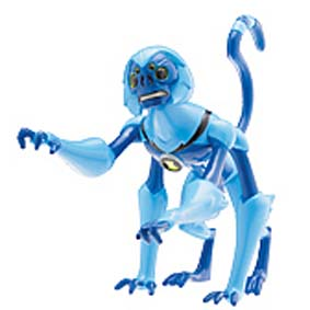 Spidermonkey do Ben 10 (aberto) + 1 mini figura