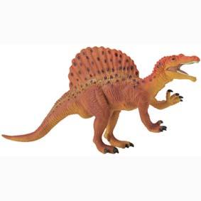 Spinosaurus pintado a mão