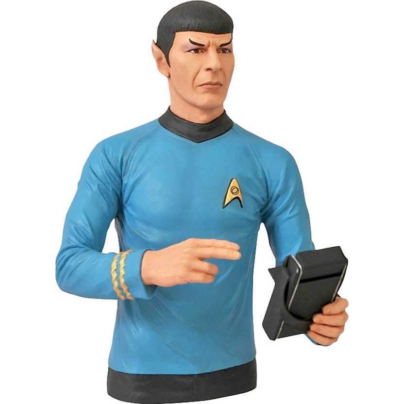 Spock Vinyl Bust Bank - Star Trek cofre do Spock (Diamond Select Toys)  Leonard Nimoy