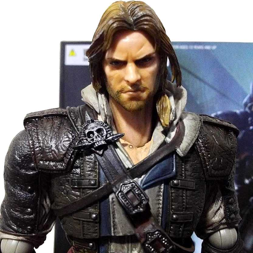 Square Enix Play Arts Kai Edward Kenway Assassins Creed IV Black Flag Action Figure