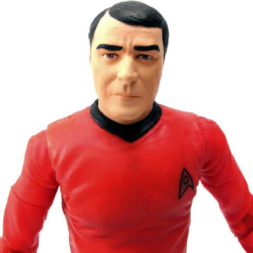 Star Trek Classic Series 2 Ensing Pavel Chekov Art Asylum bonecos colecionáveis