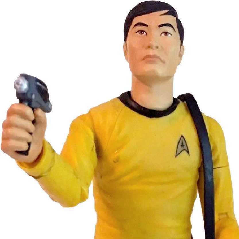 Star Trek Classic Series 2 Helmsman Lieutenant Hikaru Sulu Starfleet Gear Art Asylum
