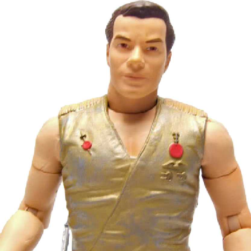 Star Trek Classic Series 2 Mirror Kirk with starfleet gear Art Asylum bonecos colecionáveis