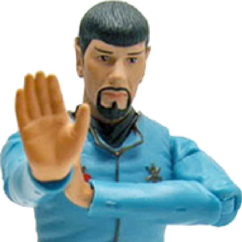 Star Trek Classic Series 2 Mirror Spock Art Asylum bonecos colecionáveis